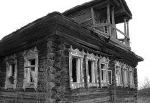 запустение, дом, брошенный, умирающая деревня