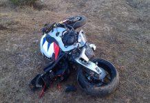авария, мотоцикл