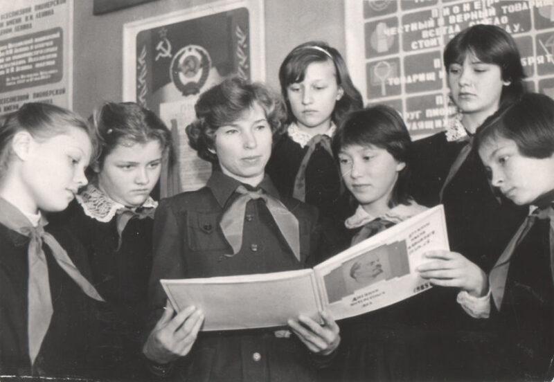 Актив дружины им. О.Кошевого, 1985 г.