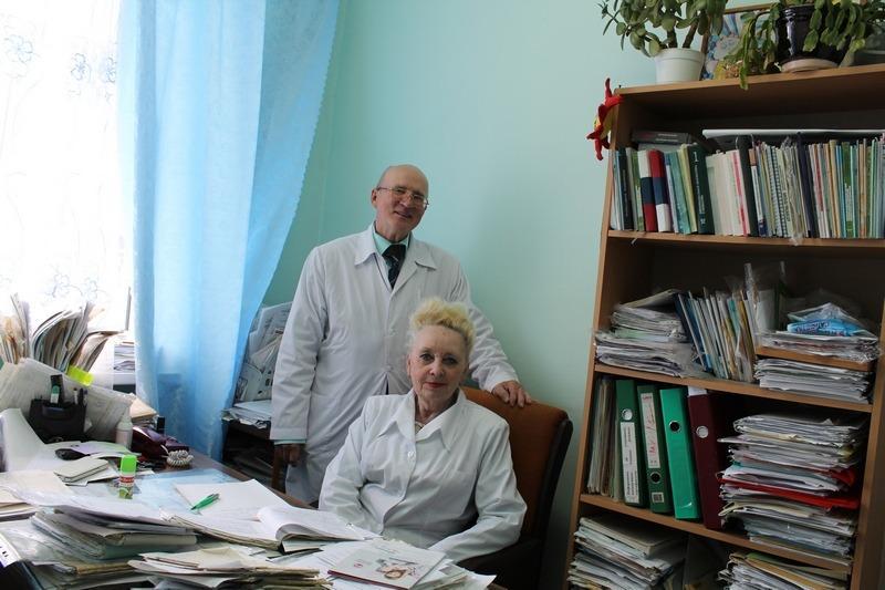 Замечательные доктора, профессионалы своего дела - чета Скрицких