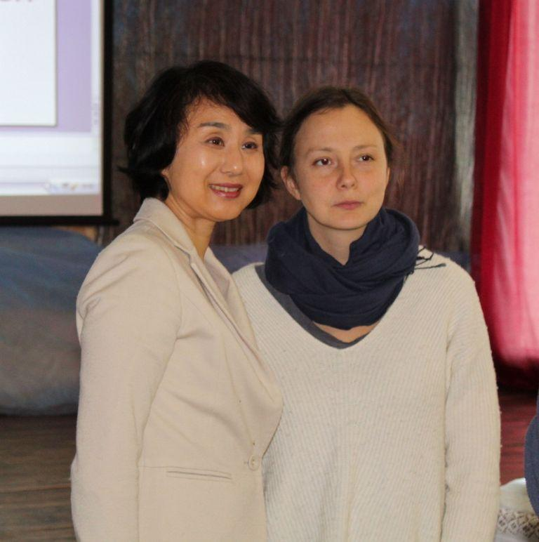 Сатоми Тацуки и Алена Жандарова