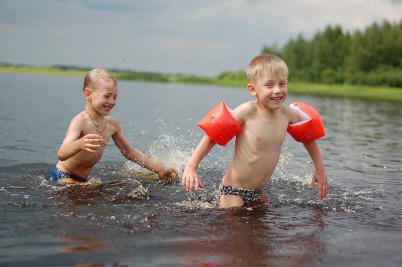 Как  правильно купаться