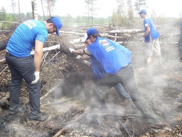 Создаются отряды добровольцев
