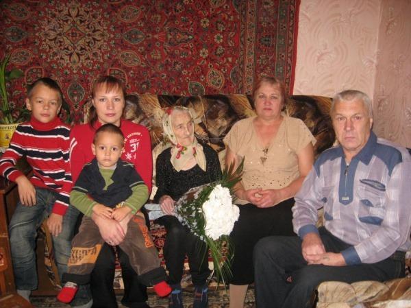 Век  бабушки  Ани