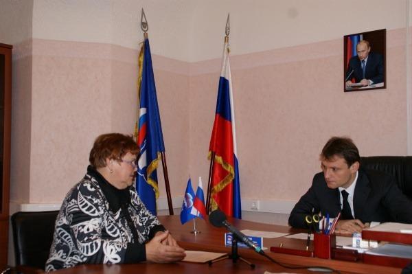 Сергей  Пахомов провел  прием  граждан