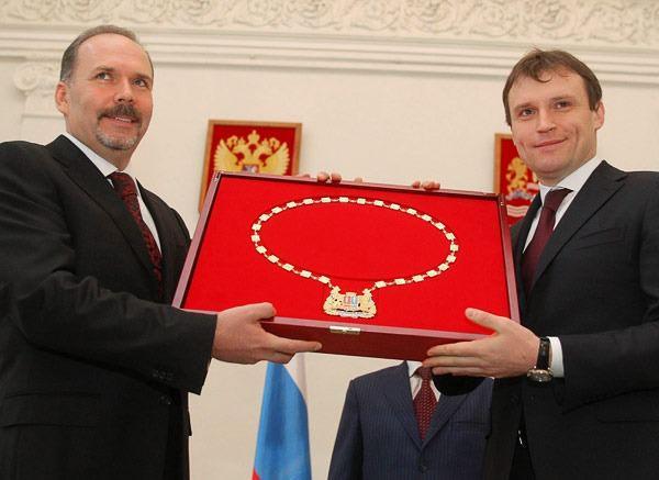 Михаил  Мень  вступил  в  должность  губернатора  Ивановской  области