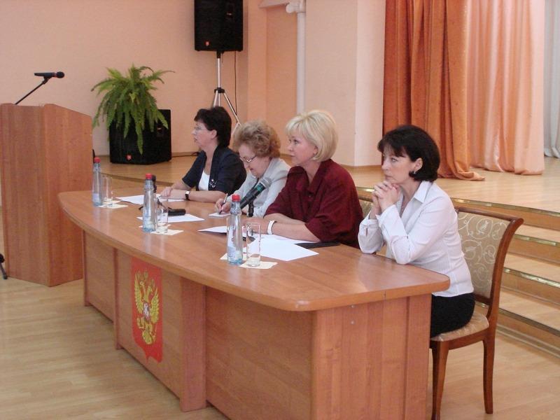 Встреча с педагогами лицея № 21