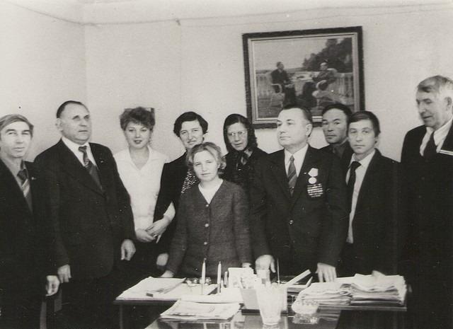 Коллектив редакции ,1985 год