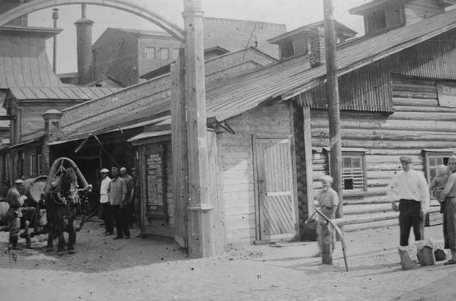 Проходная пивоваренного завода