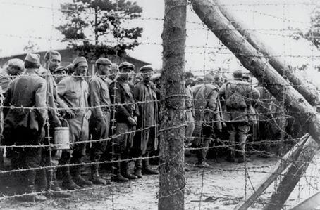 Wietzendorf. Советские военнопленные, 1941 год