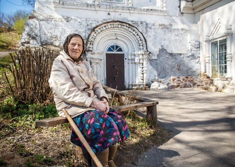 бабушка, церковь, судьба