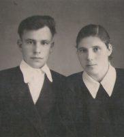 Клавдия Николаевна со своим супругом
