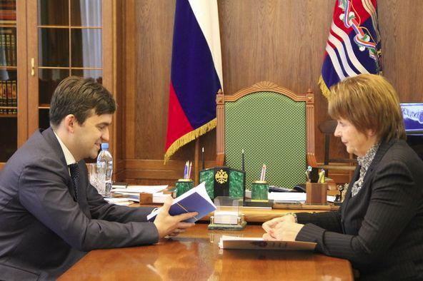 Станислав Воскресенский обсудил с омбудсменом вопросы защиты прав граждан в регионе