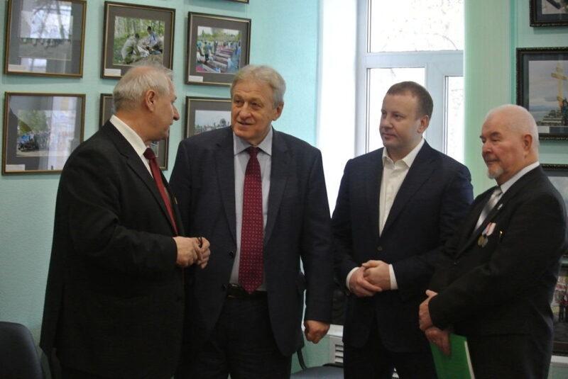 Юрий Смирнов встретился с активистами регионального отделения Русского географического общества