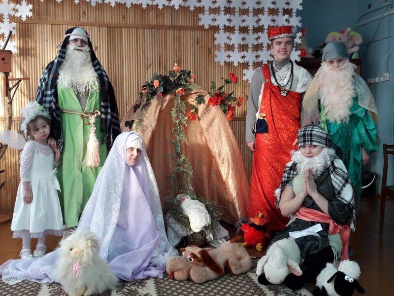 «Рождественский вертеп» вдет.саду №2«Дюймовочка»