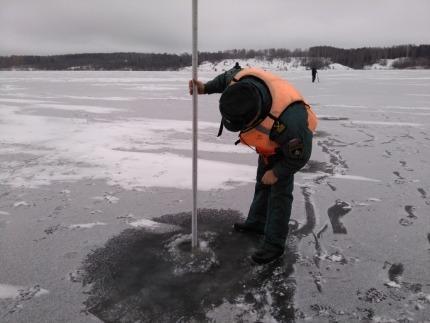Информация о толщине льда на водных объектах Ивановской области по состоянию на 16.01.2018