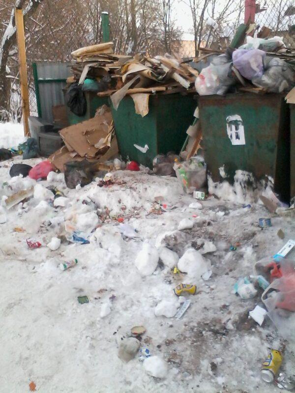 Снегопад прошел— мусор остался
