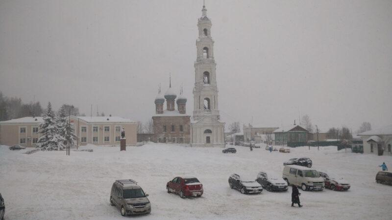 Погода в Юрьевце: от снегопада к морозам