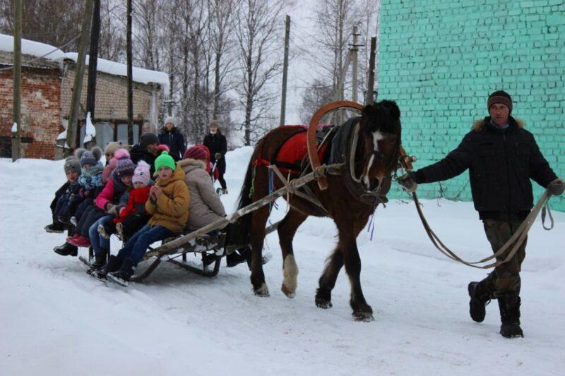 В Михайлове проводили зиму...