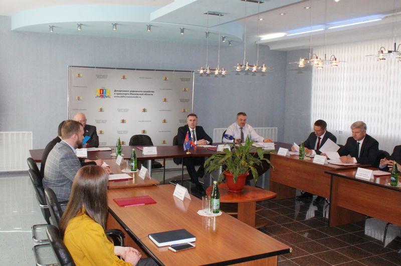 В департаменте дорожного хозяйства и транспорта Ивановской области подвели итоги за 2017 год