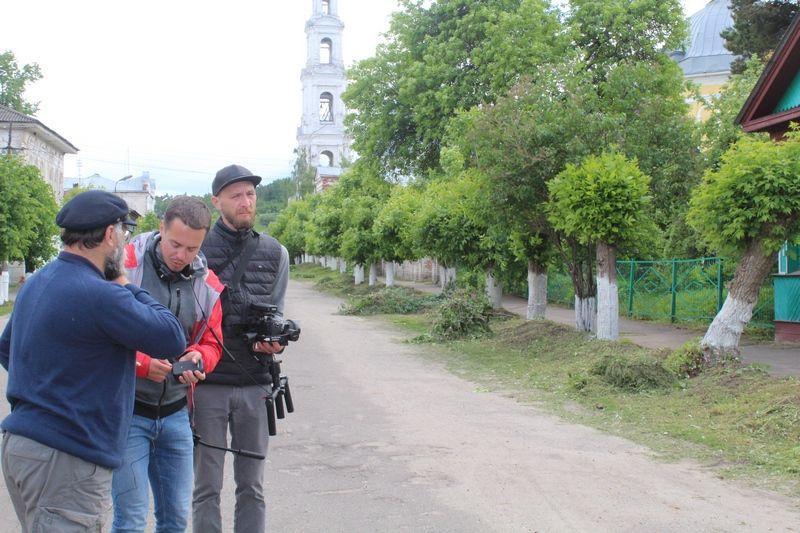 В Юрьевце прошли съемки документального мультимедийного проекта «Великие реки России»