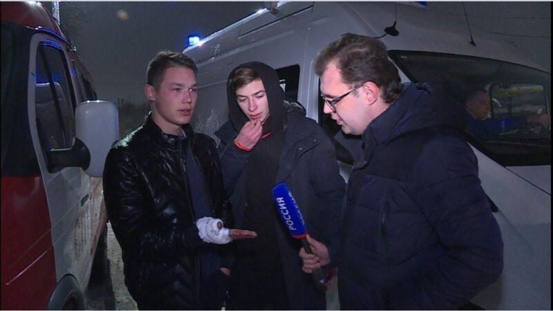 Двое парней в новогоднюю ночь спасли из огня детей