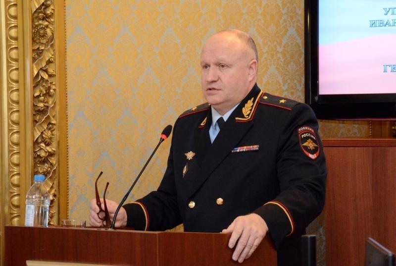Министр внутренних дел РФ решил уволить начальника УМВД по Ивановской области Андрея Лузина