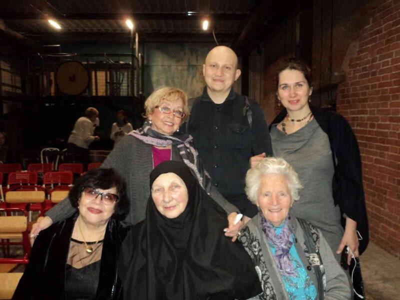 Презентация книги монахини Анны в Москве