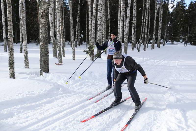 В городском лесу прошла традиционная лыжная гонка (фоторепортаж)