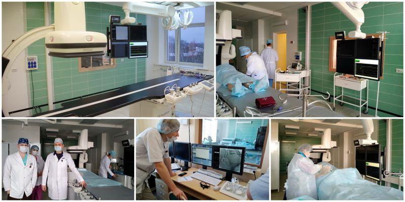 В Кинешемской ЦРБ выполнена первая операция на ангиографическом комплексе