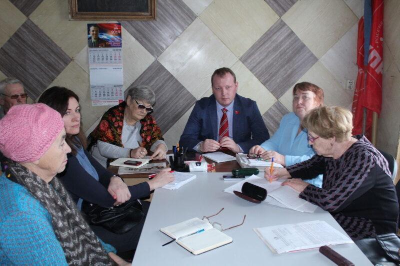 Депутат от КПРФ Александр Бойков провел прием в Юрьевце