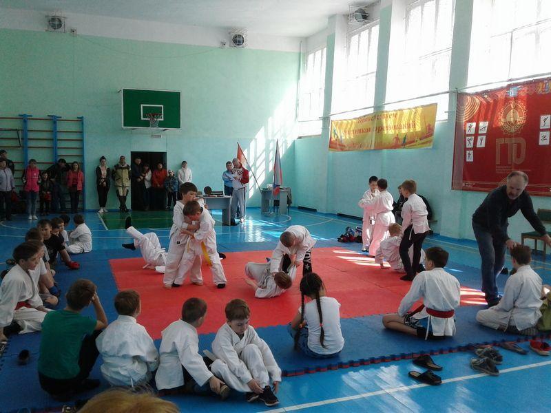 В ДЮСШ состоялось первенство по рукопашному бою