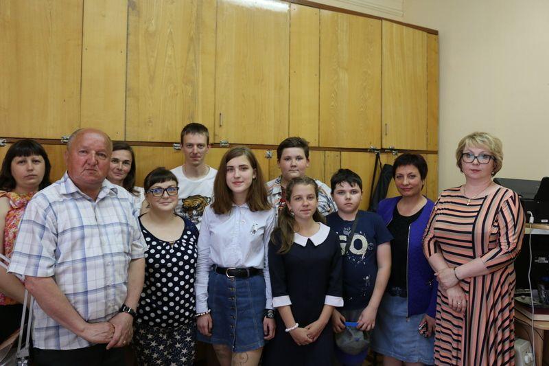Юные журналисты в гостях у редакции