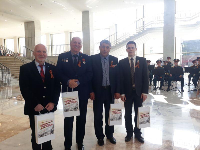 Ивановская делегация приняла участие в общественно-патриотической акции «Спасибо за верность, потомки!»