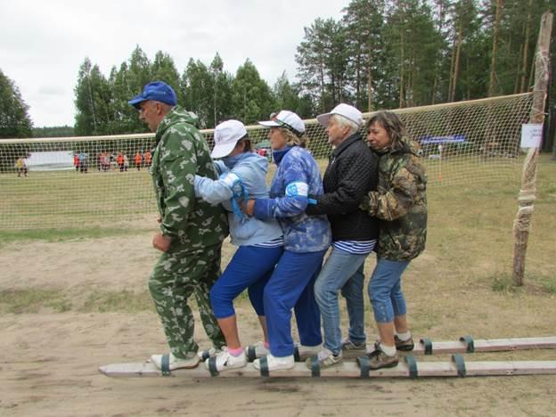 Команда КЦСОН участвовала в турслете