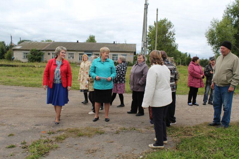 Приемная «Единой России» провела встречу с населением села Пелевино