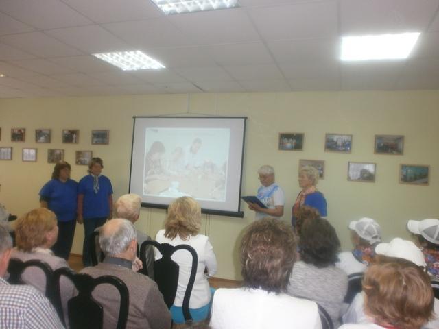 «Областной смотр Школ «Серебряных волонтеров»