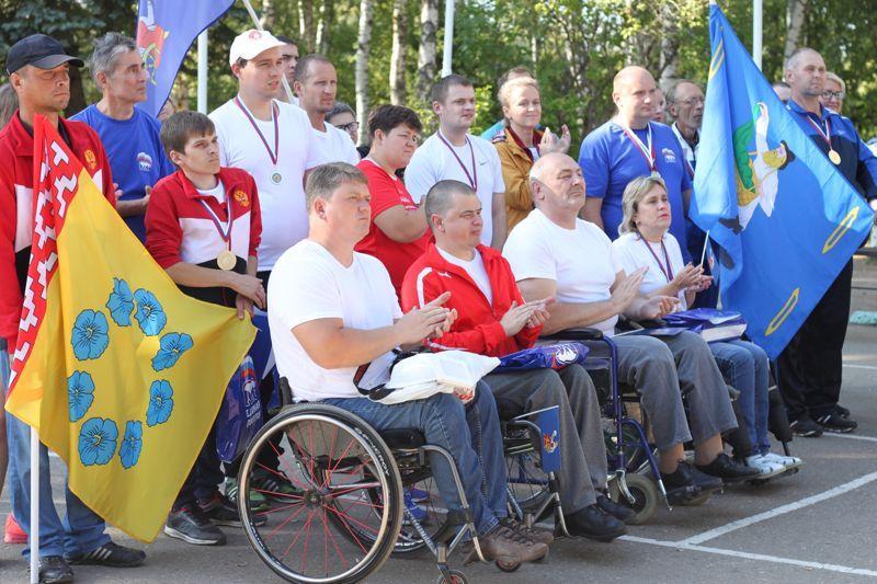 Команды спортсменов из Кинешмы и Родниковского района стали золотыми призерами XI Параспартакиады Ивановской области
