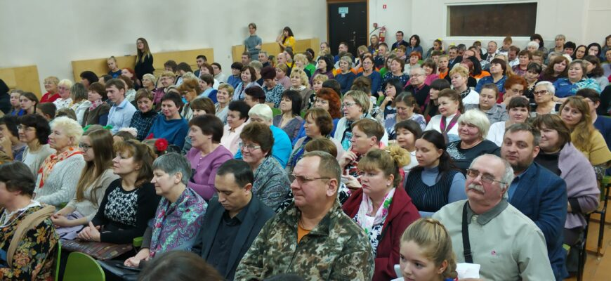 Педагогов района поздравили с профессиональным праздником