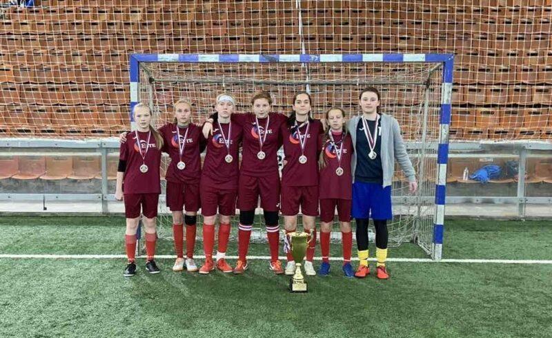 Юные футболистки из Иваново - вторые на Всероссийском фестивале детского дворового футбола