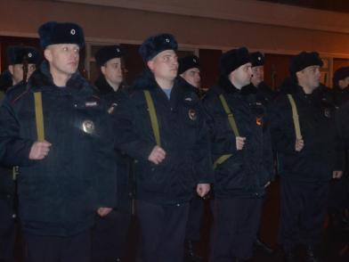 Сводный отряд ивановских полицейских отправился в служебную командировку