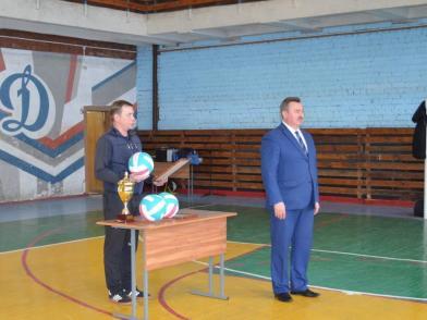 В спортивном комплексе «Динамо» прошли межведомственные соревнования по волейболу