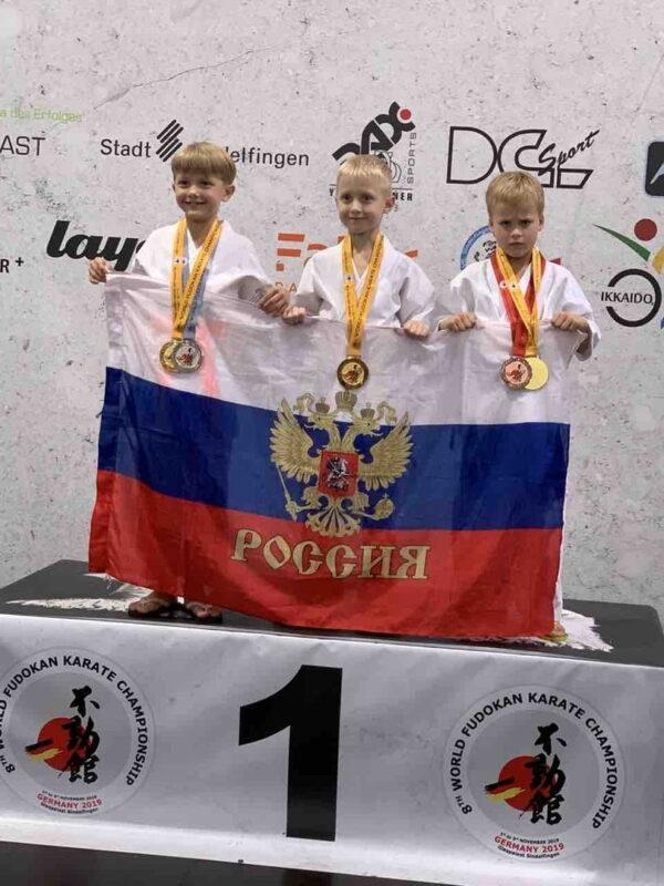 Сборная команда Ивановской области завоевала 22 медали на Чемпионате и Первенстве мира по фудокан каратэ
