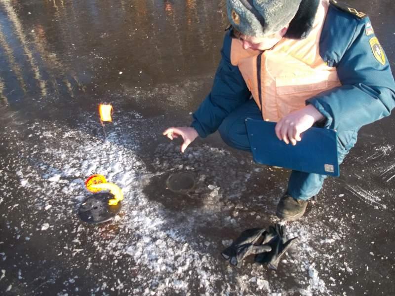 Неокрепший лёд опасен!