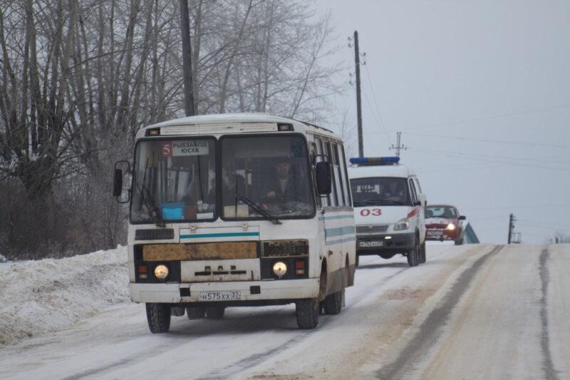 Расписание автобусов в новогоднюю ночь