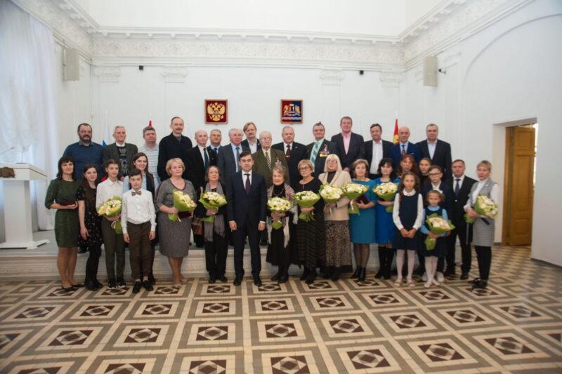 Станислав Воскресенский вручил государственные награды жителям Ивановской области