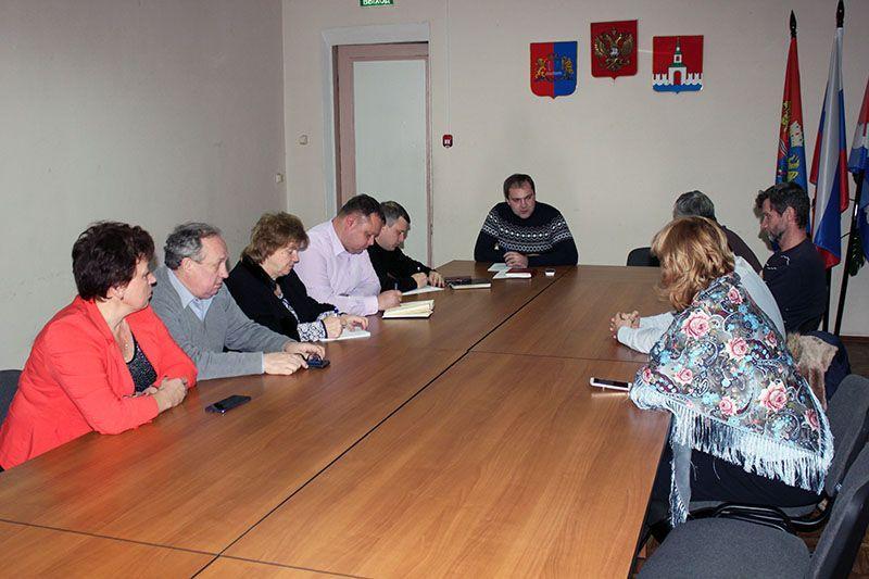 В администрации прошло заседание по выбору проекта для создания комфортной городской среды в 2020 году