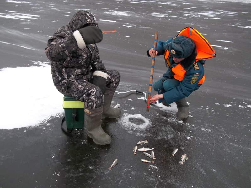 Мониторинг ледовой акватории в начале январе