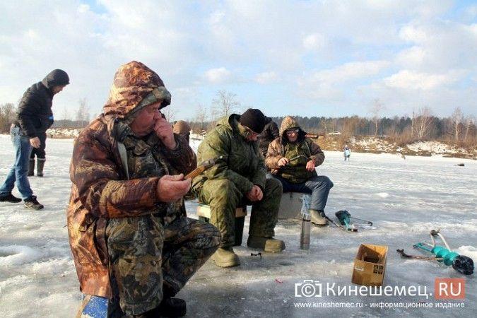 В Кинешме прошли соревнования по рыбной ловле
