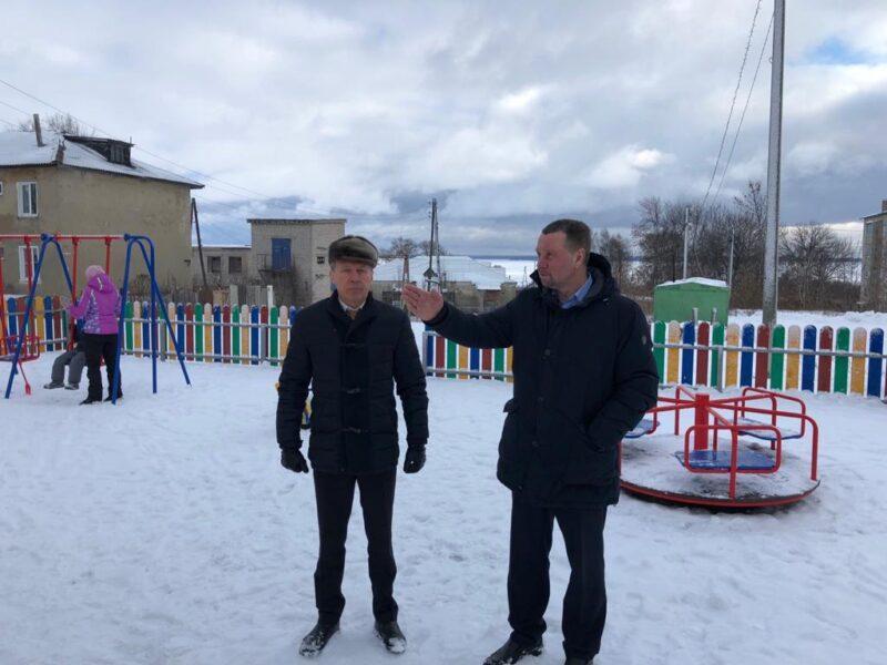 Юрьевец с рабочим визитом посетил депутат Ивановской областной Думы Сергей Мазалов